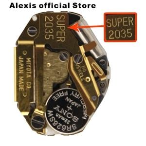 Image 2 - Miyota 2035 Goud Super 3 Hand Quartz Horloge Beweging MO1002B