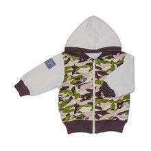 Куртка Lucky Child для девочек и мальчиков, 3Т-5Т, арт. 31-17pf (Милитари) [сделано в России, доставка от 2-х дней]