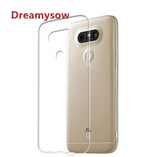 Dreamysow Crystal Silicone Back Clear Soft TPU Case Cover For LG V10 V20 V30 G3 Mini G4 beat G5 G6 G4S X POWER Q8 Q6 Back Cover