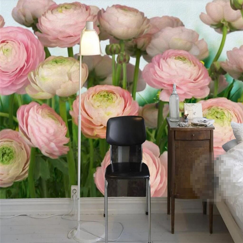 Mega Sale 5264 Romantic Rose Flower Tv Background Wall