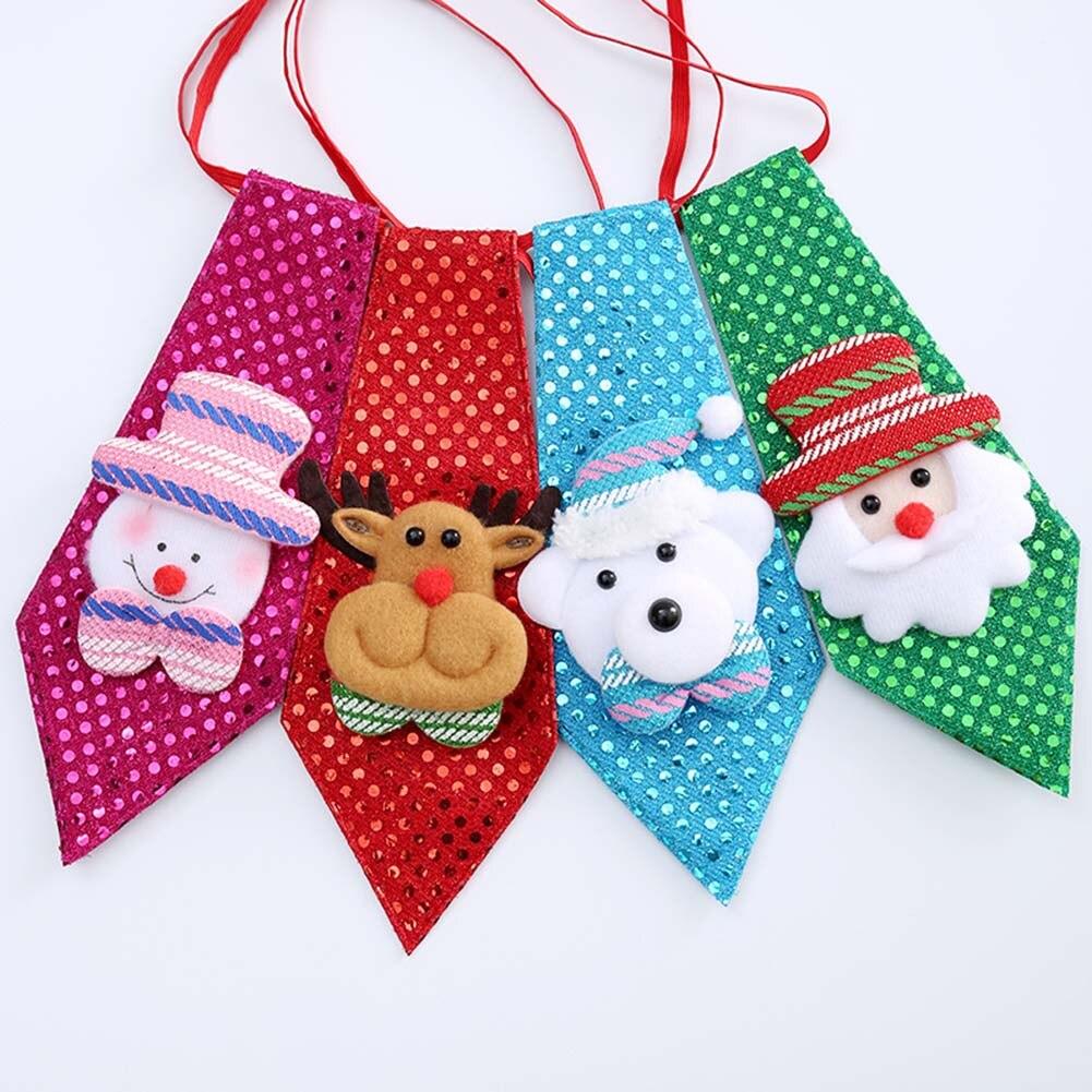 unid corbata fiesta de navidad accesorios nios pajarita coreana creativa de navidad nios dance party