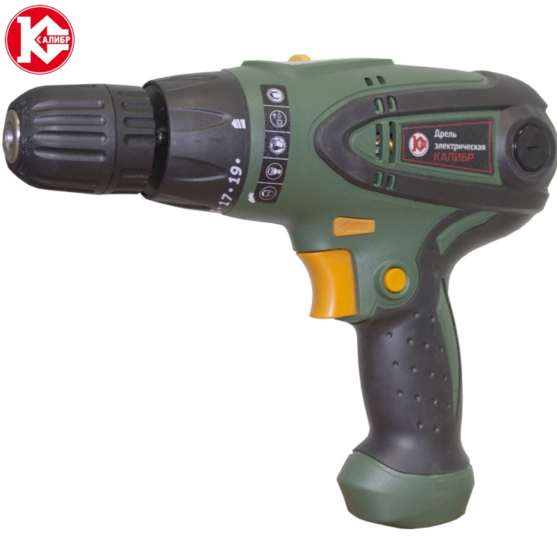 Electric unstressed drill / screwdriver Kalibr Master DE-700/2Sh kalibr da 518 2 electric screwdriver battery screwdriver wireless drill power tools electric torque screwdriver 2 batteries
