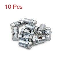 Uxcell Universal Fit für Kabel Durchmesser 2,5mm 10Pcs 14x8mm Bremsleitung Kabel Draht Fixiert Schrauben verschluss für Motorrad