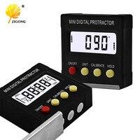 360 градусов Мини цифровой угломер и уровень электронный уровень коробки магнитные базовые измерительные инструменты