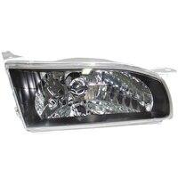 Headlight Right fits TOYOTA COROLLA #E11 1995 1996 1997 Headlamp Right BLACK CRYSTAL