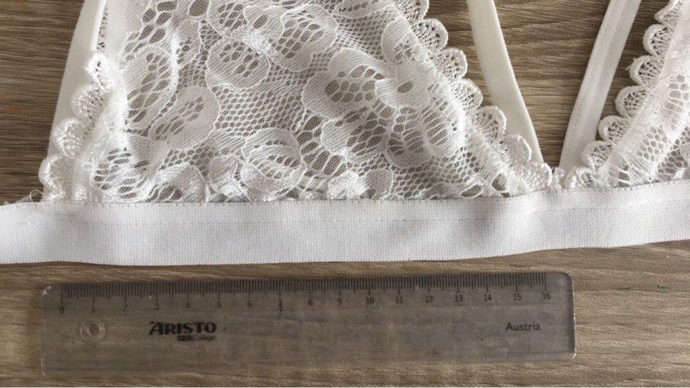 Кружево подкладки Bralette Strappy Bra Мода вырез бюстгальтер милые Беспроводной Bralet пикантные Нижнее Бельё для девочек интимные