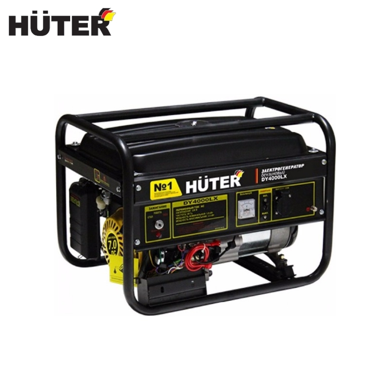 Electric generator HUTER DY4000LX - electric starter цена