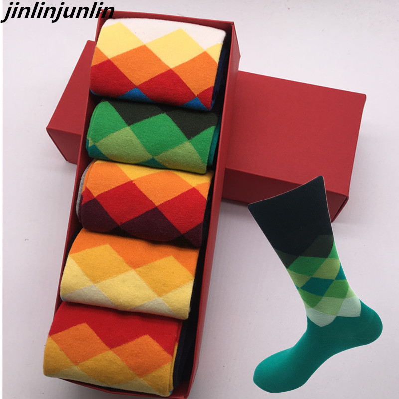 Cotton Casual Free Shipping High Quality Men's   Socks   for Girls, Colorful Clothes Girls   Socks   (5 Pairs per Lot) No Gift Boxes