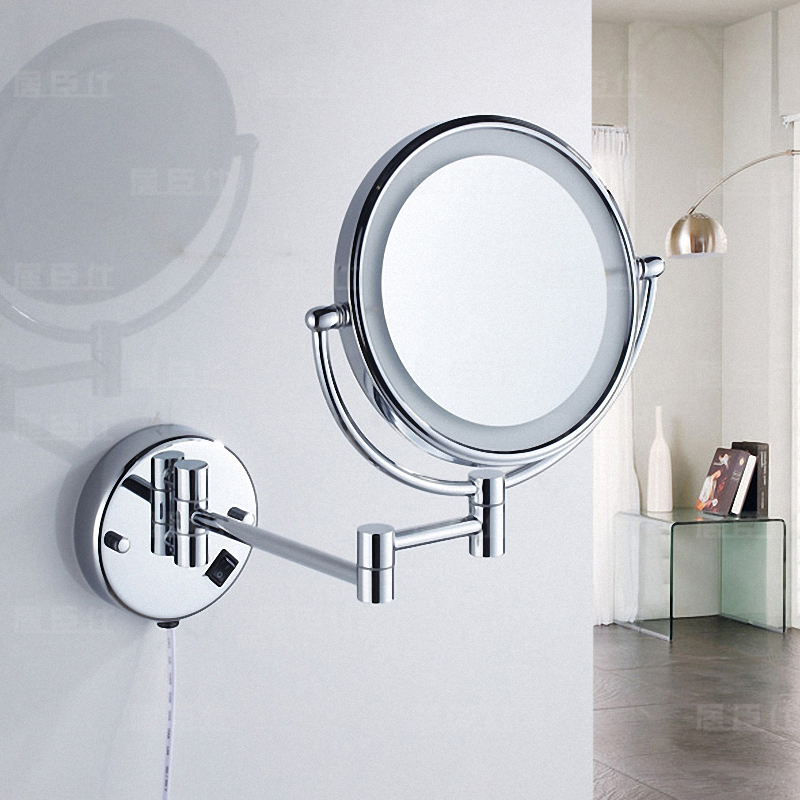 Wall Mounted Bathroom Magnifying Mirror