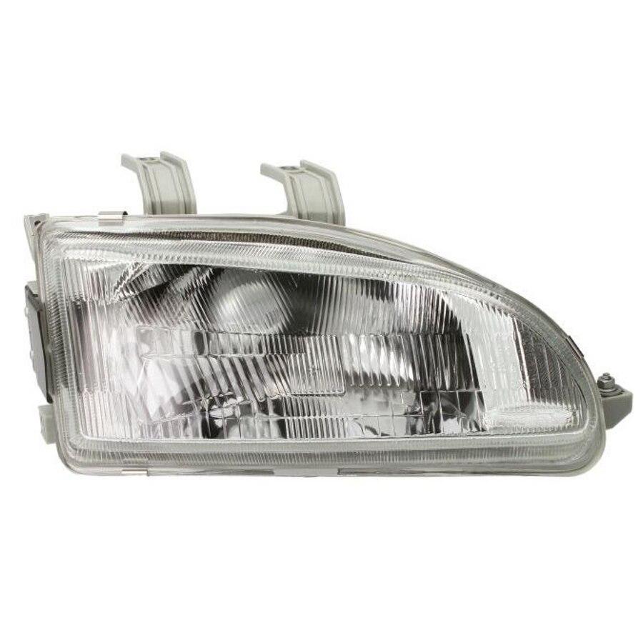 92 93 94 95 Honda Civic Headlight Left Driver NEW Headlamp Front