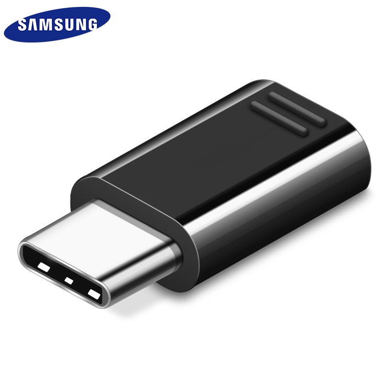 Samsung S9 S8 Plus Micro USB To USB Type C Adapter Converter Original Note8 C5 C7 C9 Pro S8 Active Note 9 8 FE Notebook 10