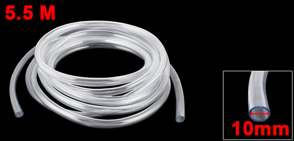 18Ft 10Mm Inner Dia Clear Plastic Pvc Hose Pipe Tube For Tank Air Pump For Farmland Garden Grassland Mining Pneumatic Parts in Pneumatic Parts from Home Improvement