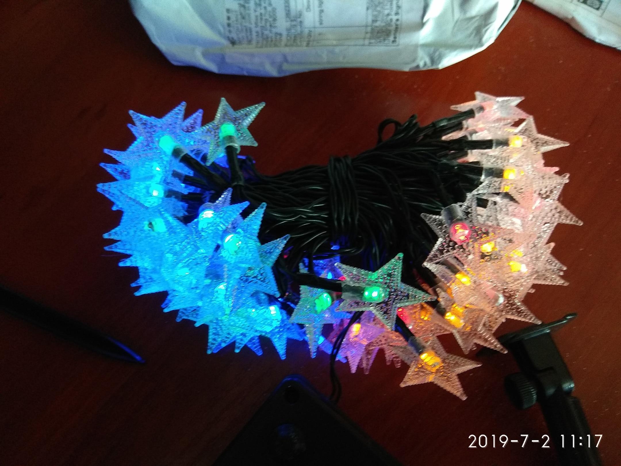 Lâmpadas solares Exterior Welpur Estrela