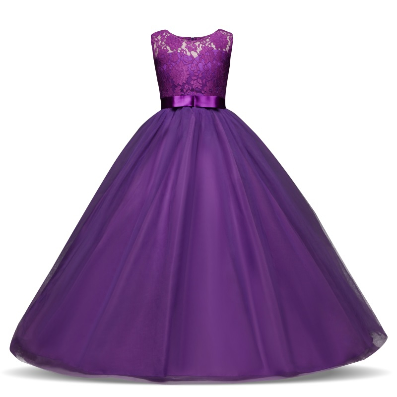 Adolescente Escuela de Baile Ball Vestido de Encaje Princesa de La ...