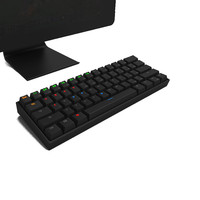 Mini Wireless Mechanical Keyboard Gaming Keyboard LED Backlit Keycaps Blue/Red/Brown Switch Keyboard For PC Computer Game Laptop