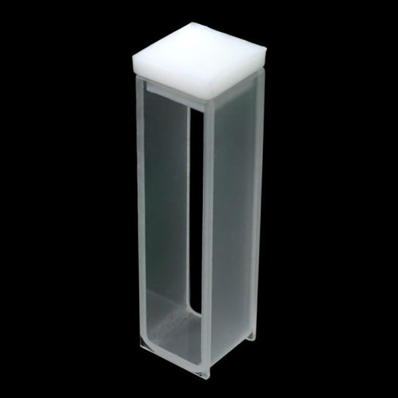 four pass light 5mm UV quartz fluorescence cuvette / acid and alkali resistantfour pass light 5mm UV quartz fluorescence cuvette / acid and alkali resistant