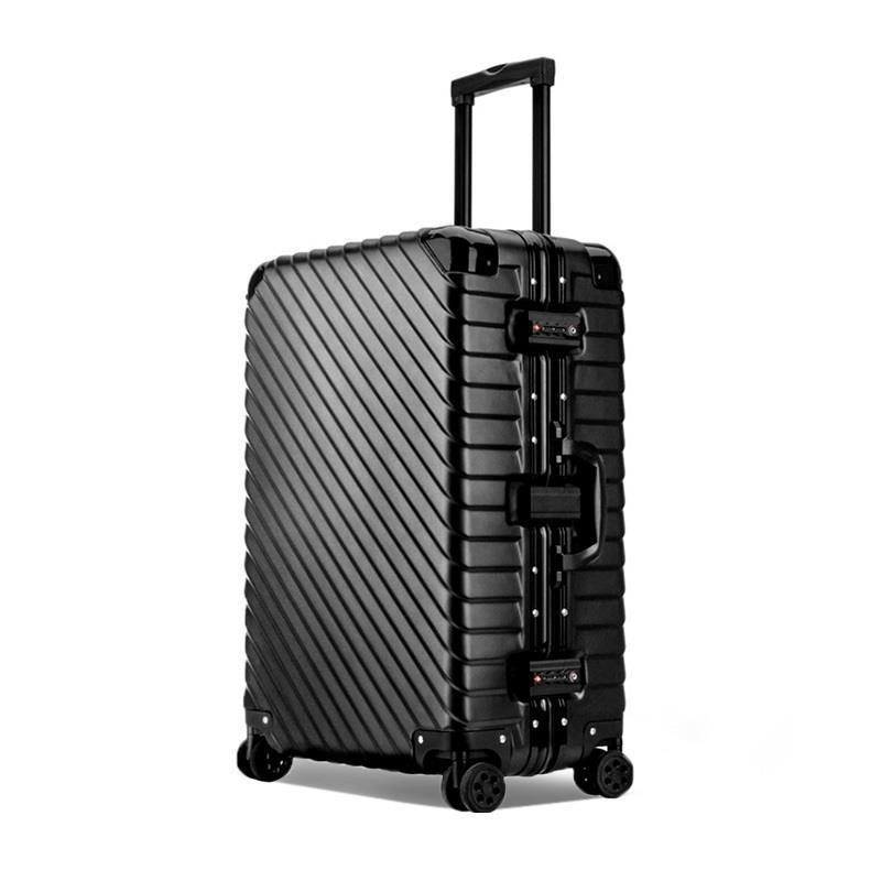 Väska med hjul Valise Väskor Roulettes Aluminiumlegering Ram Mala - Väskor för bagage och resor - Foto 3