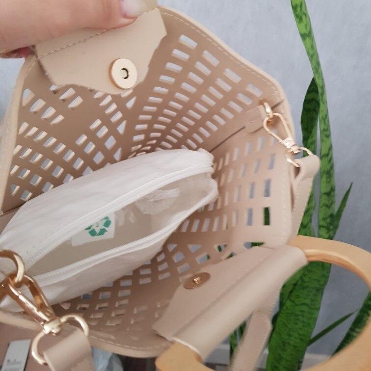 Bolsas de mão Madeira Feminina Bolsas
