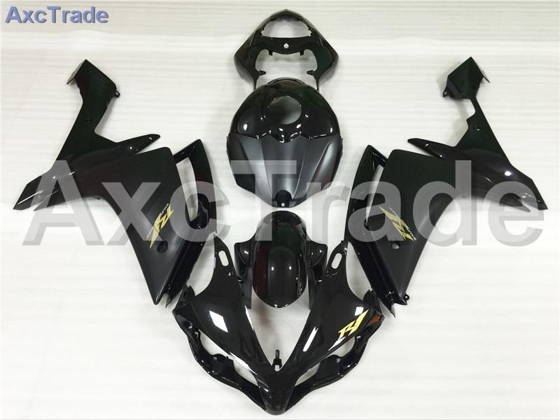 Motorcycle Fairings Kits For Yamaha YZF1000 YZF 1000 R1 YZF-R1 2007 2008 07 08 ABS Injection Fairing Bodywork Kit Black A408 for yamaha yzf 1000 r1 2007 2008 yzf1000r inject abs plastic motorcycle fairing kit yzfr1 07 08 yzf1000r1 yzf 1000r cb02