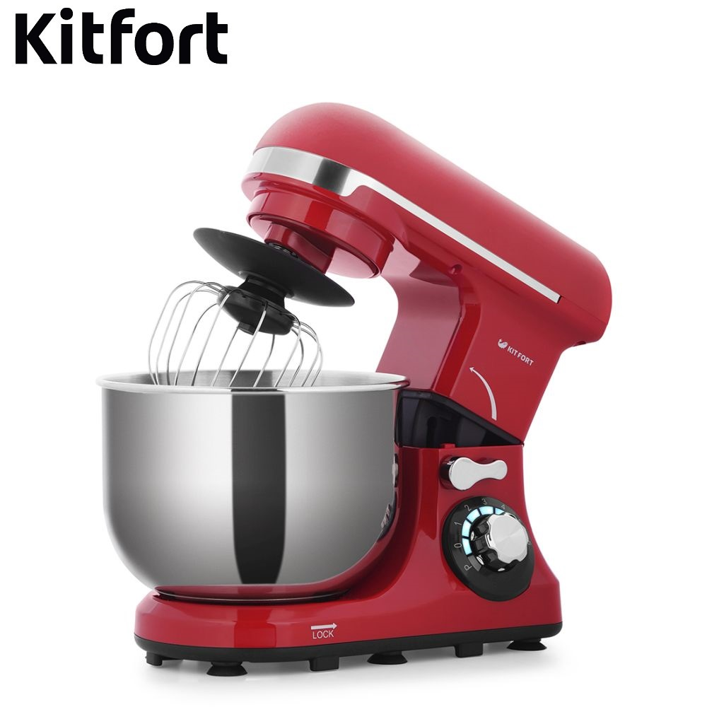 Food Mixer electric kitchen Kitfort KT-1337 Cocktail shaker mixers Planetary mixer Dough Mixer with bowl Kitchen machine single handle brass mixer tap waterfall kitchen sink faucet