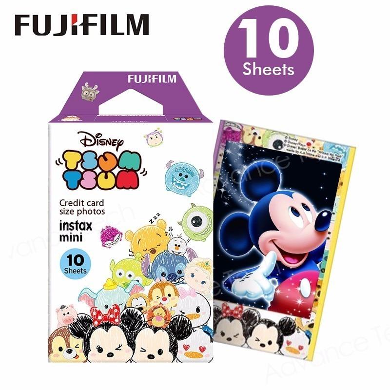 Galleria fotografica Limited Tsum 10pcs Fujifilm Instax Mini Film Fuji Photo Paper For 8 50s 7s 90 25 Share SP-1 SP-2 lomo Instant Camera