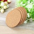 JosheLive 6pcs/lot Natural Cork Coaster Heat Resistant Cup Mug Mat Coffee Tea Hot Drink posavasos placemat Kitchen Decor