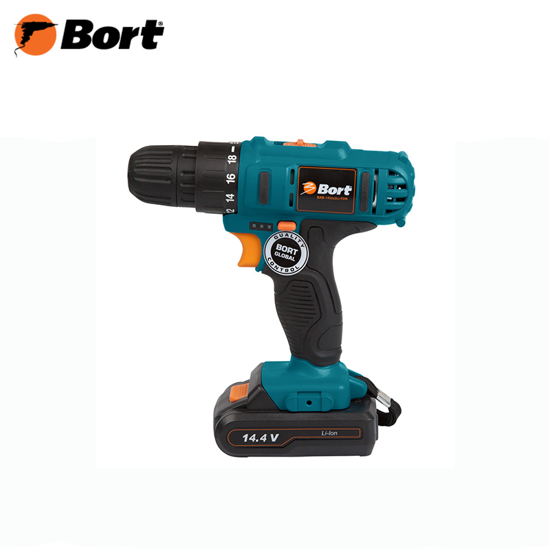 Cordless screwdriver Bort BAB-14U x 2 LI-FDK li-ion battery power gtf 3 7v 4000mah 18650 battery rechargeable battery li ion 18650 battery for led flashlight torch