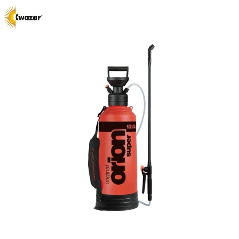 Sprayer KWAZAR Orion Super 12L compressive Spraying apparatus Plant sprayer Herbicide sprayer Garden plant processing опрыскиватель компрессионный kwazar orion pro цвет белый голубой 9 л