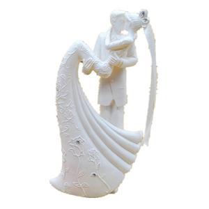 Image 3 - Romantic Figurine Bride Groom Hug And Kiss Bachelorette Party Bride Groom Wedding Party Decoration