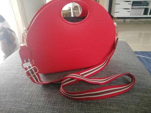 3.8cm Wide Nylon Striped Strap Replacment Shoulder Bag Accessories Women Bag Belt Adjustable Long Handbag Strap Handle KZ1001-1 photo review