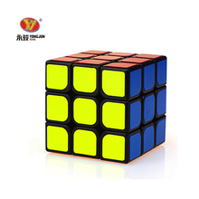 YONGJUN 56mm 3x3x3 Magic Puzzle Cubes Competition Speed Square Educational Toys For Children kids Grownups Colorful