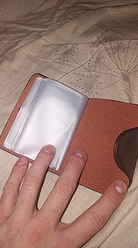 BOVIS Vintage Credit Card Holder Top PU Leather 20 Card Slot Business ID Card Holder Classical styleMen Card Wallet Wallet Rfid photo review