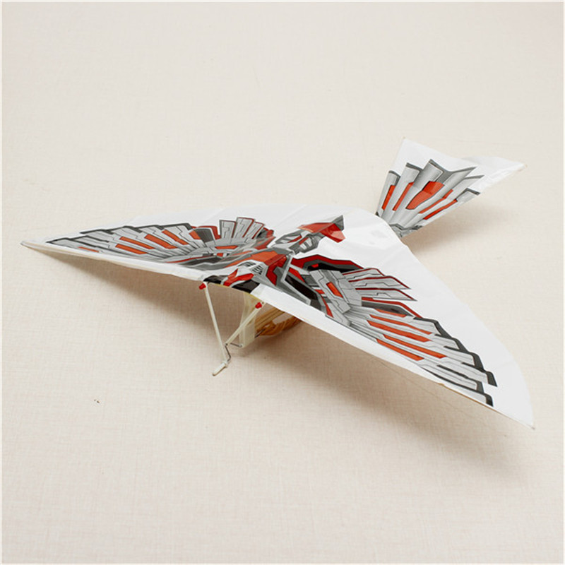 DIY Assembly Flapping Wing Flight Model Imitate Birds Aircraft Eeducational Gifts Children