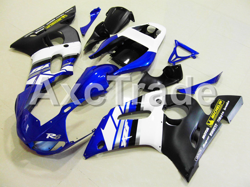 Motorcycle Fairings For Yamaha YZF600 YZF 600 R6 YZF-R6 1998 1999 2000 2001 2002 ABS Injection Molding Fairing Bodywork Kit 105