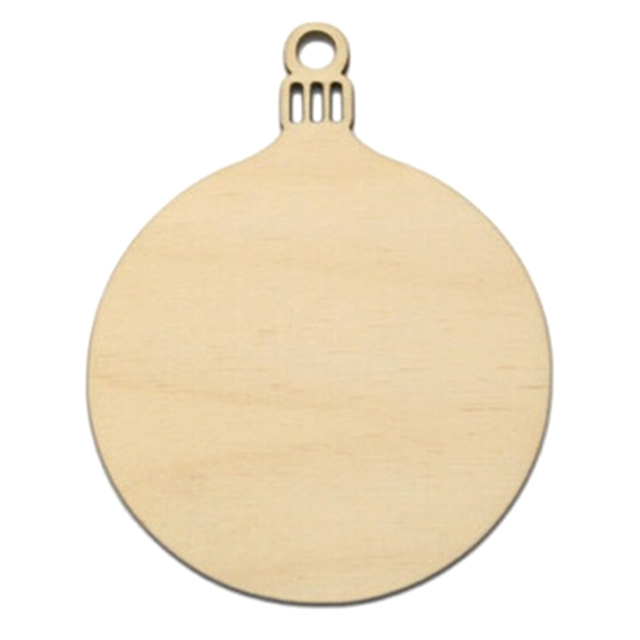10 pcs set wooden round bell hanging christmas tree blank decorations gift tag shape - Blank Christmas Tree