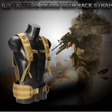 Fall-Army Military Tactical Adjustable Vest Camo Workout Weight Vest Airsoft Paintball Molle Combat Assault Vest(China)