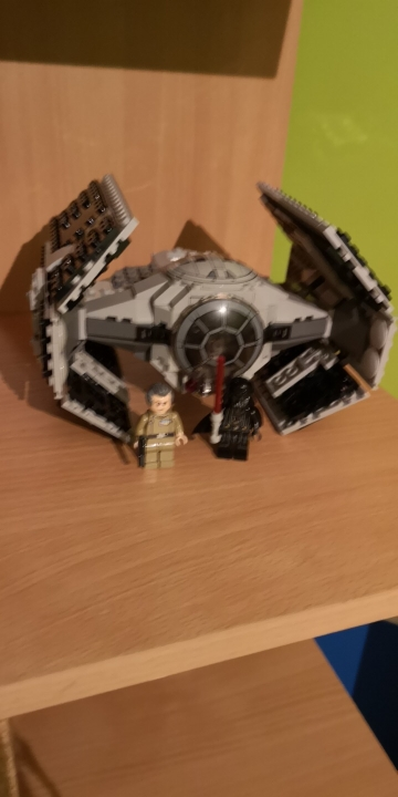 LEPIN 05030 Star Wars The 75150 Vader Tie Advanced VS A wing Star Fighter Block Set photo review