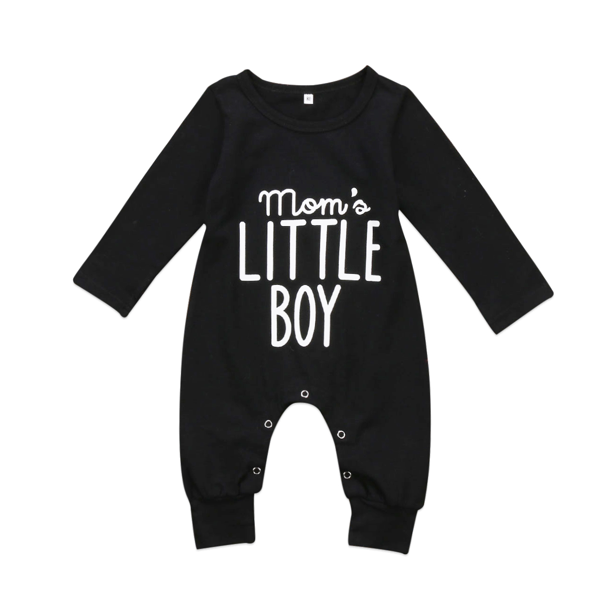Cotton Newborn Infant Baby Boy Girl Little Boy   Romper   Jumpsuit Long Sleeve Playsuit One-Pieces Outfits Clothes