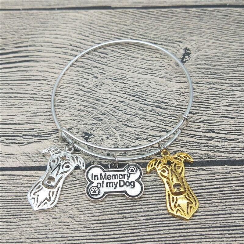 Мода Новый борзая браслеты Симпатичные Борзая Собака браслеты Браслеты модные животных Pet Jewellery