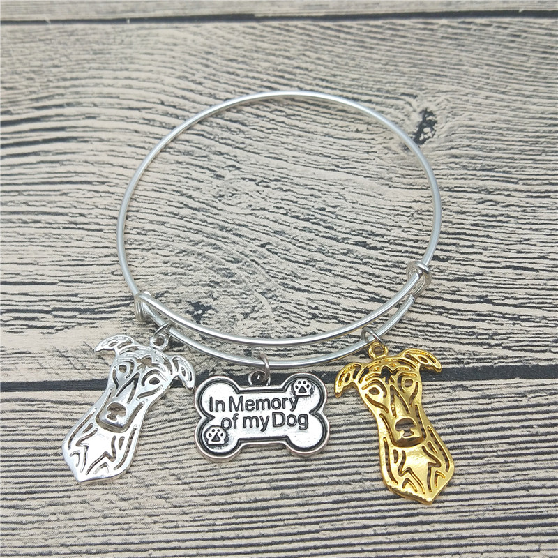 Trendy New Greyhound Bangles Cute Greyhound Dog Bangles Bracelets Fashion Animal Pet Jewellery