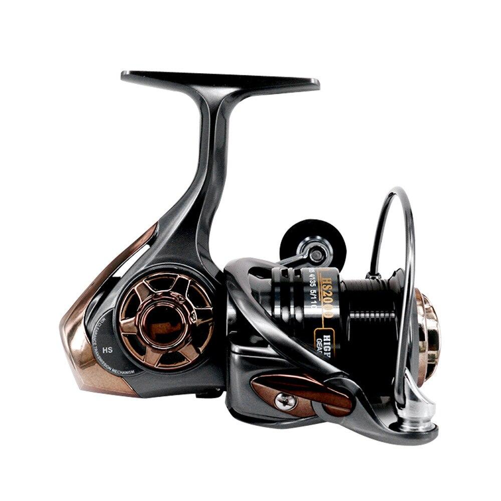 High Speed Ratio 7.1:1Metal Fishing Reel Coil Sea Spinning Reels Interchangable Handle Inshore Offshore Fishing Reel