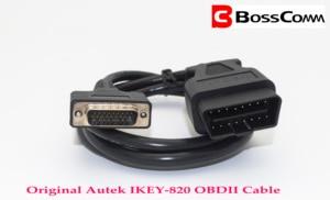Image 3 - الرئيسية 26 Pins OBD2 كابل ربط Autek IKEY820 وغيرها السيارات مفتاح مبرمج للسيارة obd1064ميناء كابل الأصلي