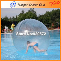 Free Shipping! 1.8m Diameter Water walking Ball Toy Ball With TPU 1.0mm and Germany TIZIP,Colorful Inflated Water Walk Zorb Ball