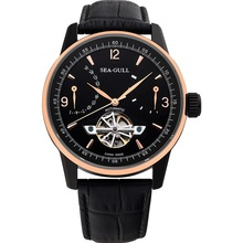 SEA-GULL Business Watches Mens Mechanical Wristwatches Calendar 50m Waterproof Leather Valentine Gifts Male 219.327