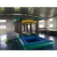 New design inflatable slide inflatable water slide pool slide on sale