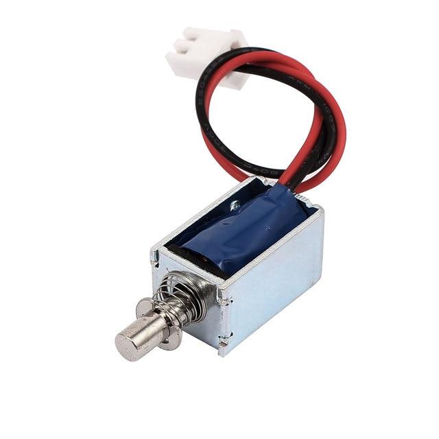 UXCELL Open Frame Actuator Door Lock Tiny Size Popup Solenoid Electromagnetic Lock  sc 1 st  AliExpress.com & UXCELL Open Frame Actuator Door Lock Tiny Size Popup Solenoid ...