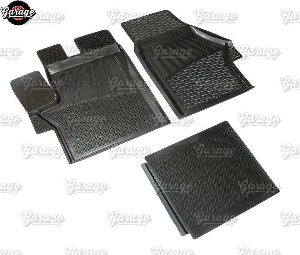 Goma tapices adecuado para Peugeot Boxer 1 piezas negro 2002-2006