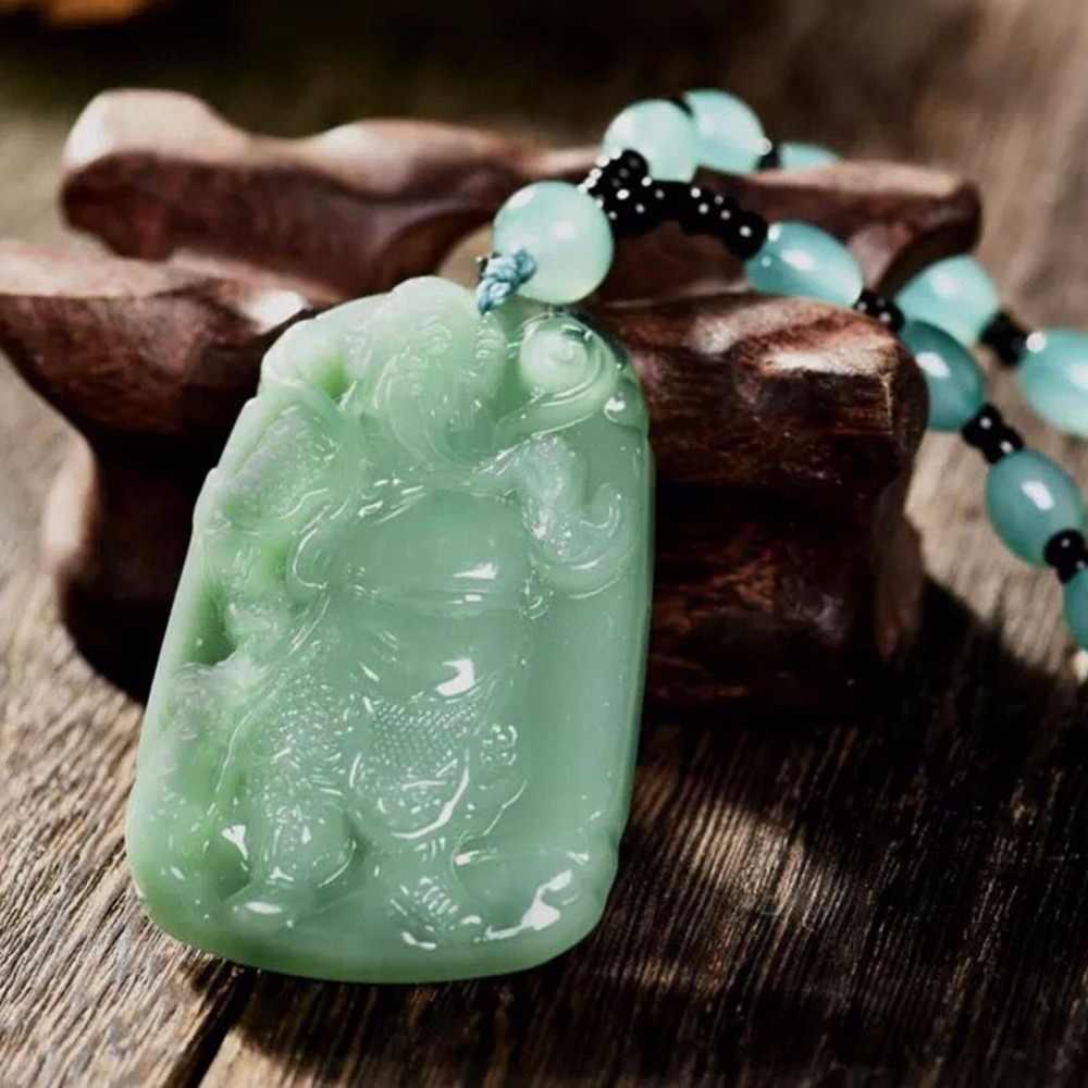 ผสม Handmade หยกธรรมชาติ Healing คริสตัลแกะสลักพระพุทธรูป Reiki ช้าง Amulet Lucky สร้อยคอจี้เครื่องประดับ Charm