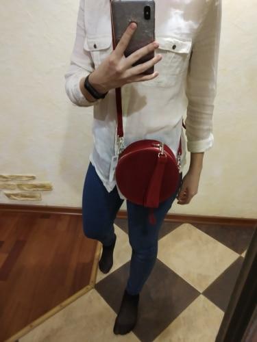 2019 New Autumn Winter Messenger Bag Ladies Small Round Bag Ladies Velvet Ladies INS Bag Corduroy Fashion Round Bag photo review