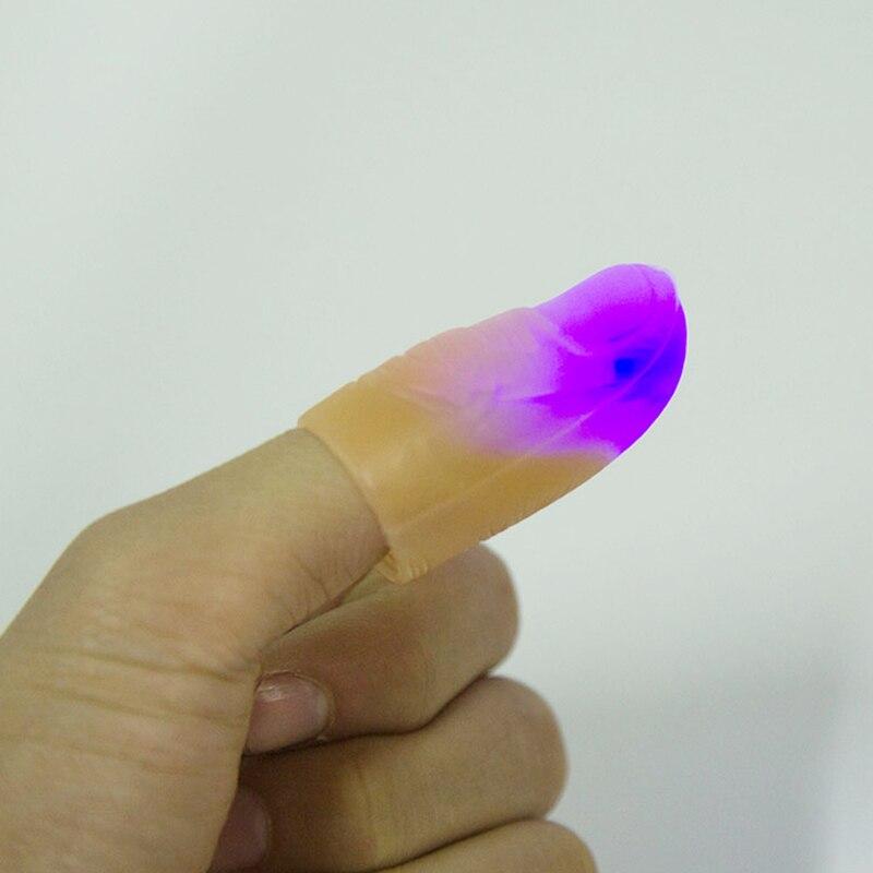 LED Bailando con la luz Dedo Truco mágico Apoyos Niños Increíble - Juguetes clásicos - foto 4